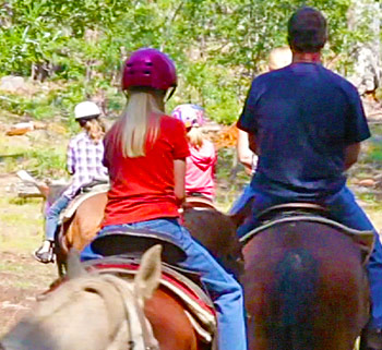 ghost mountain ranch, horseback riding