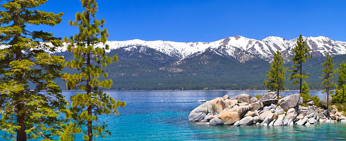 boating on south lake tahoe