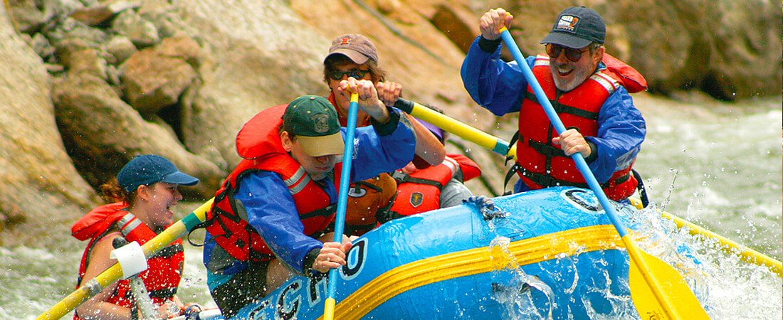 family river rafting at south lake tahoe